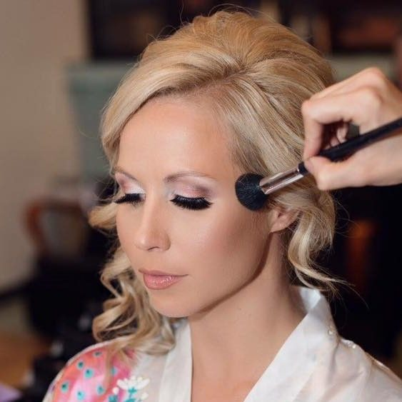 Pretty on Point Wedding Makeup Bridal Hair